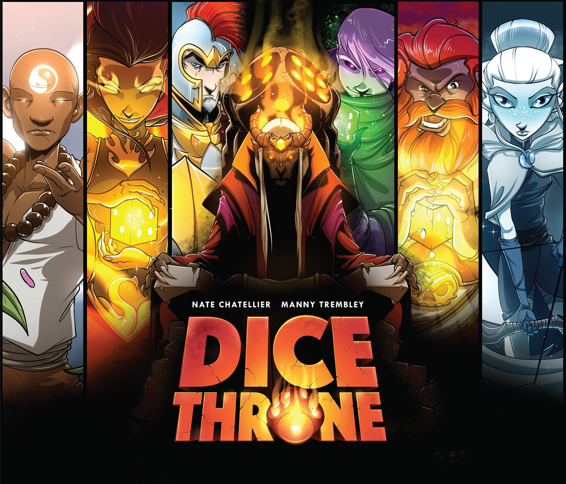 DiceThrone Cover Art